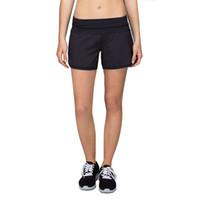 Wholesale Two Set Underwear - women lu lu women Groovy Run Short,woman running Wire free Shake proof yoga fitness vest underwear two pieces set