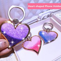 Wholesale Ladies Accessories Holders Wholesale - Car Hand Fashion Women Girls Lady Creative Lazy Heart-shaped Mobile Cell Phone Stand Holder Accessory 3116