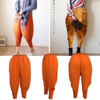 moda mulheres baggy calças venda por atacado-Frango frito Calças Mulheres Haroon Haren Calças Senhora Plus Size Baggy Calças Hip-Hop Capris Cosplay Moda Elástica Solta Calças KKA3167