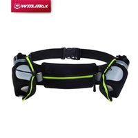 Wholesale Exercise Belt For Free - WINMAX New Running Belts Exercise Climbing Camping Cycling Runner Bag Waist Packs Men & Women with 2 Free Water Bottles for