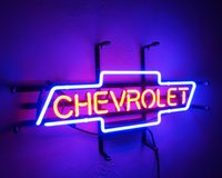 Wholesale Chevrolet Neon Signs - New Tat tire Neon Beer Sign Bar Sign Real Glass Neon Light Beer Sign ME 642- CHEVROLET 9.8x18 001
