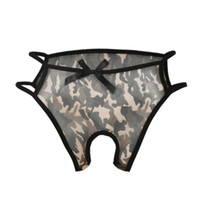 Wholesale Crotchless Plus Size Lingerie - New Women Sexy Hollow Panties Crotchless G-String Briefs Thongs Lingerie Knickers Underwear