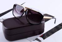 vintage sonnenbrille neues modell großhandel-Weinlesemarken BEWEIS-Sonnenbrille-Sommerartmodell lunettes Qualitätsfrauen-Sommergläser berühmte Designerart und weise neue Sonnegläser