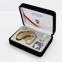Wholesale Deaf Hearing Aid - Hearing Aid Convenient AXON V-163 Personal Sound Voice Amlifier Behind Ear Hearing Aids Hearing Device for the Deaf