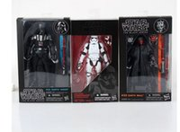 Wholesale Star Wars Pvc Toy - New Star Wars Action Figures toy the Force Awakens the Black Series Storm Trooper Boba Fett 12 Style 16cm Toy PVC Figure Model Gift