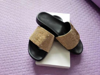 Wholesale Lips Sandals - 2017 MEDUSA rhinestone Slippers Mens Comfortable medusa Summer Beach fashion slip-on sandals lip-flops 36-45