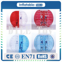 Wholesale hot toys soccer for sale - Hot Selling1 M PVC Material Zorb Soccer Ball Hamster Ball Human Bubble Ball Bumper Ball Bubble Football