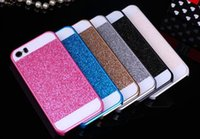 Wholesale Cheap 5s Cases - Twinkling IPhone4s 5s 6s 6plus 7G 7plus Protective Cover High Quality PC Material Cell Phone Cases The Cheap 4ys