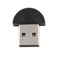 Wholesale Smallest Bluetooth Adapters - New Smallest 2.0 Mini USB Bluetooth Adapter V2.0 EDR USB Dongle for PC Laptops Desktops Computer Accessories Peripherals