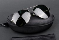 fashion sunglasses Canada - AAAA+ quality Glass lens Men Women Polit Fashion Sunglasses UV Protection Brand Designer Vintage Sport Sun glasses With box