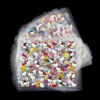 Wholesale Nail Sticker 24 - Wholesale- 24 Manicure Designs Colorful Hello Kitty Nail Stickers, Nails DIY Beauty Decorations Tools For 3D Nail Art JH156