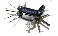 Wholesale 15 Screwdriver - 15 in 1 Multifunctional Portable Bicycle Multi Repairing Tool Kit Screwdriver Hexagon Wrench combination repair Bike tool