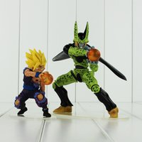EmS Anime Dragon Ball Cell Son Gohan Action PVC Figure da collezione Model Toy per bambini regalo spedizione gratuita