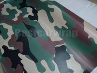 Wholesale green truck cars online - Large Army Green Camoufalge Vinyl For Car Wrap With Air Release air bubble free for Truck boat graphics coating X30M x98ft