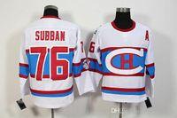Wholesale Hockey Jerseys 79 - #76 PK Subban White Jersey 2016 Hockey Montreal Canadiens Winter Classic Jerseys #79 Andrei Markov #11 Brendan Gallagher Jersey