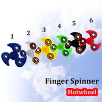 Wholesale Blue Fire Design - Fingertips Toy Fire Wheel Finger Spinning Top For Adults Kids Decompression Focus Educational Fidget Toy HotWheel Design With Box Package