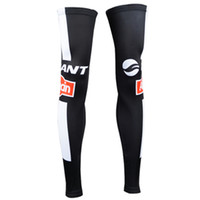 Wholesale Resistance Lycra - New Pro giant Bike Cycling Leg Warmers Sun Protective UV Resistance Bicycle Legs Covers Breathable Riding Outfit Lycra Thigh Sun Sahoo si21