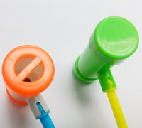 martillo de plástico para niños al por mayor-Al por mayor- 1 pieza de plástico Hammer Rolling Tube Groan Sound Maker ideal Boys Girls Kids fiesta de cumpleaños Pinata juego FAVORES juguetes premio regalo