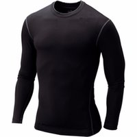 Wholesale Tights Collection - Wholesale- New Men Compression Base Layer Tight Shirt Long Sleeve Gear Collection