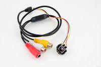 mikro cctv kamera ses toptan satış-8 LED IR Gece Görüş pinhole kamera HD 600TVL 5MP CMOS Ev Güvenlik Kamera Mini CCTV Mikro HD Video Ses Pinhole Kamera