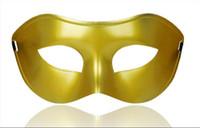 венецианская половина маскирует женщин оптовых-DHL бесплатно венецианские маскарадные маски для Хэллоуина маскарадные шары Марди Гра Пром танцевальная вечеринка half eye золотые серебряные маски для мужчин и женщин