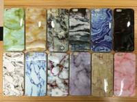 iphone 5s marmor fall großhandel-Marmor degin weichen tpu telefon case für iphone6 6s 6 plus 5 5s se weichen glatten tpu abdeckung case dünne rückseite