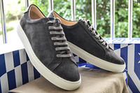 Wholesale Italy Women Leather Shoes - New Hot Italy Original Common Projects Shoes Men Women Genuine Leather Sheepskin White Casual Platforms Shoes Woman Brand Chaussures 34-46