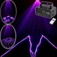 Wholesale Dmx Laser Purple - SUNY Mini Purple DMX 512 Remote Sound Projector Stage Equipment Light DJ KTV Show Holiday Laser Lighting DM-V150