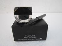 Wholesale Eyeliner Gel Brush Fluidline - free shipping brand makeup eyeliner gel Fluidline with brush 5.5g 0.17 US OZ,high quality
