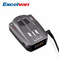 Wholesale Excelvan V9 Vehicle Car Radar Detector Degree Band LED Display Detection Russia English Voice Alert Warning