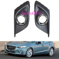 Wholesale 2X A For Mazda Axela Car Front Bumper Fog Driving Lights Housing COVER