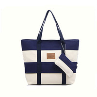 Shoulder Bags organic cotton stores - fashion women canves shoulder bags two tone women s handbags colors ladies hand bag large capacity new store most favorable