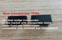Wholesale Wedges Wholesale China - transponder TPX6 carbon new wedge transponder for cloning texas fixed and texas crypto free shipping china post air mail