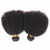 Wholesale 4a Human Hair Weave - For Sale 4a,4b,4c Afro Kinky Curly Human Hair Extensions Natural Black Brazilian Curly Hair