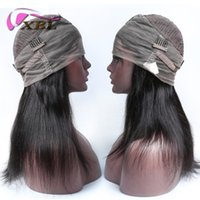 Wholesale new human hair wigs resale online - xblhair full lace human hair wigs new arrival human hair wig within body wave and straight hair style