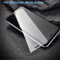 Wholesale Screen L5 - For LG Tribute HD LS676 X Style Tempered Glass Screen Protector For ZTE Blade L5 Motorola Moto Z Play Film Anti-shatter Paper Package