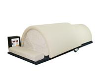 ingrosso scatola di sauna-Cupola per sauna professionale di alta qualità con scatola di controllo in legno, sistema Solo, 1 persona a infrarossi FAR Fusion Carbon / ceramica