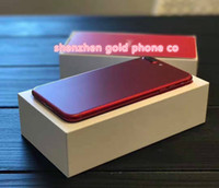Wholesale Framing House Design - red new color New Design Red Black Housing For Iphone 7 7 Plus Housing Black with Logo Alloy Frame Parts For Iphone 7 4.7inch Red Housing