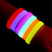 led-licht armbänder großhandel-Musik aktiviert Armbänder Sound Control LED Flashing Armband Leuchten Armreif Armband Nachtclub Aktivität Party Bar Disco Cheer