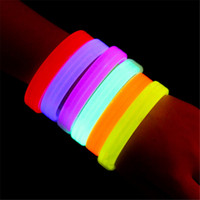 luces de discoteca bar al por mayor-Pulseras activadas por música Control de sonido Led Pulsera intermitente Luz hasta Brazalete Pulsera Night Club Activity Party Bar Disco Cheer