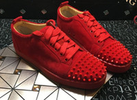 Wholesale making suede - sneakers new sole made in EU suede spikes fashion casual womens shoes,men shoes trainer footwear