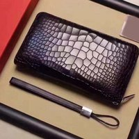 Wholesale Man Name Card Holder - French Card Holders high-quality men's wallet black 173894919 size 12 * 21 * 2 fashion show models business wallet name postage