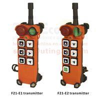 Wholesale Crane Remote - Wholesale- F21-E1 transmitter TELEcontrol Industrial Crane Remote Control 6 channels One speed CE FCC