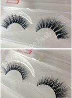 Wholesale Cheap Fake Lashes - 10Pairs Cheap Lashes 3D Mink Fake False Eyelashes High Quality Makeup Eyelash Extension 3D Fashion Charming Eyelashes Hot sale