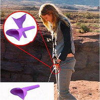 Mujer Ella Wee Mujer Mujer Urino Urina Funnel Camping Festivales Viajes Nuevo PEZ Standing Funnel Lady Elegance Orina con Soft Silicona