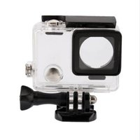 Wholesale Gopro Camera Waterproof - 50yd Underwater Waterproof Camera Housing Case Cover For Gopro Hero 4 3+ 3 Transparent Shockproof Diving Shell Box