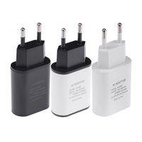 Wholesale Wholesale Portable Charging Device - New Portable EU Plug 5V 2A Quick Charge Wall Travel Mobile Phone USB Charger Adapter For universal smart device