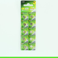 Wholesale Lr41 Batteries - GP LR41 192 Alkaline button battery forelectronic scale watch millet remote electronic environmental protection