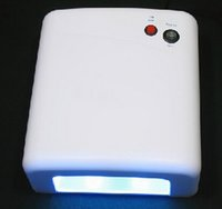 Wholesale Lamp Loca - Wholesale- 36W 220-240V UV Lamp Gel Curing with 4pcs 365nm Bulb to bake loca glue for refurbish lcd