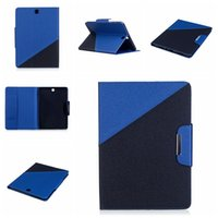 Wholesale Tablet Cover Wallet - Tablet Case for Samsung Galaxy Tab T550 T560 T580 Tab E 9.6 Case Slim Luxury Wallet Flip Case Premium Tablet Cover